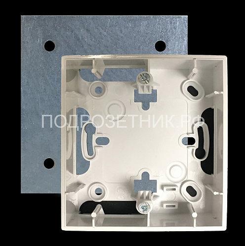 Металлическая подложка для подъемной рамки Schneider El. Unica  на 1 пост