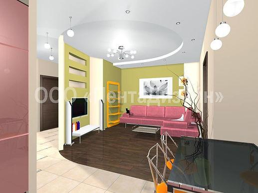 Дизайн 2-х комнатных квартир на Волгоградском проспекте