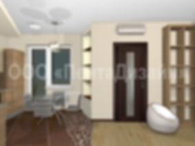 Ремонт-дизайн 1 комнатных квартир в домах серии И-155