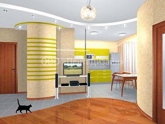 Дизайн-ремонт квартир на 2-й Владимирской