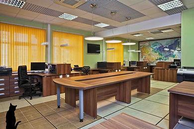 Дизайн офиса 140 м2 на 30 сотрудников