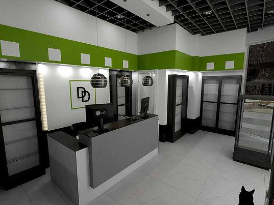 Дизайн-проект салона связи