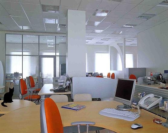 Дизайн-ремонт офиса 400 м2