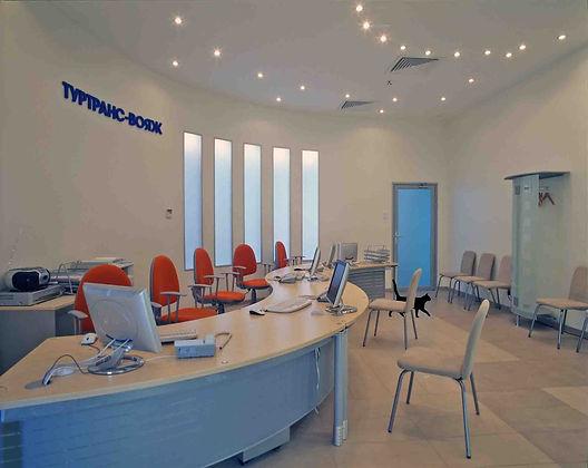 Дизайн-проект офиса турфирмы