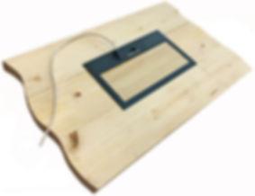 Электролюк для деревянного дома для установки в пол