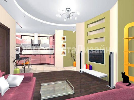 Дизайн-ремонт квартир на Волгоградском проспекте