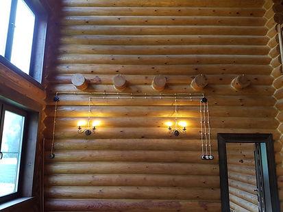Прокладка ретро-проводки в деревянном доме