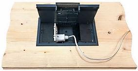 Электро люк для деревянного дома для установки в пол