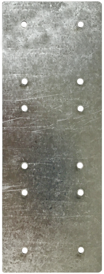 Металлическая подложка для накладных розетокLegrand Valena (на КМКУ) на 3 поста