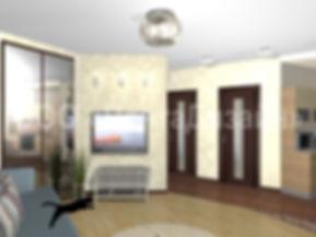 Ремонт квартитр на Подмосковном бульваре