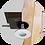 """Thumbnail: Антипожарный корпус встроенного светильника """"ПЕНТА"""" для дерева"""