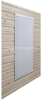 Встроенный электрический щит для деревянного дома