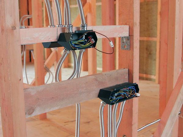 Электропроводка в каркасном доме