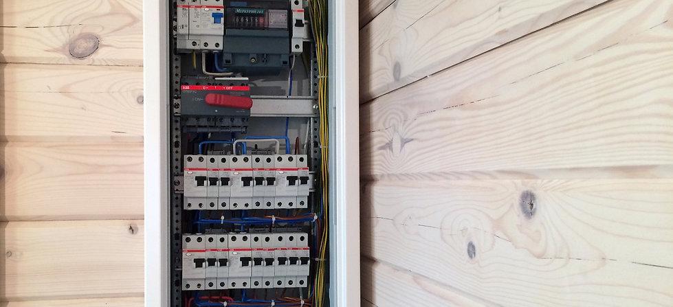 Электро проводка в деревянном доме