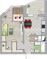 Ремонт 1 комнатных квартир в домах серии КОПЭ