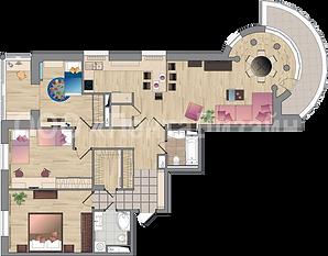 Перепланировка и дизайн 4-х комнатных квартир