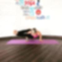 yoga pose, 8 angle pose