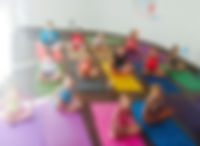 kids yoga, breathing