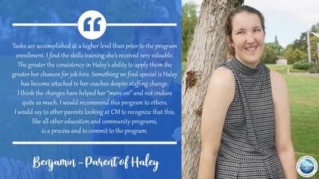 Parent of Haley