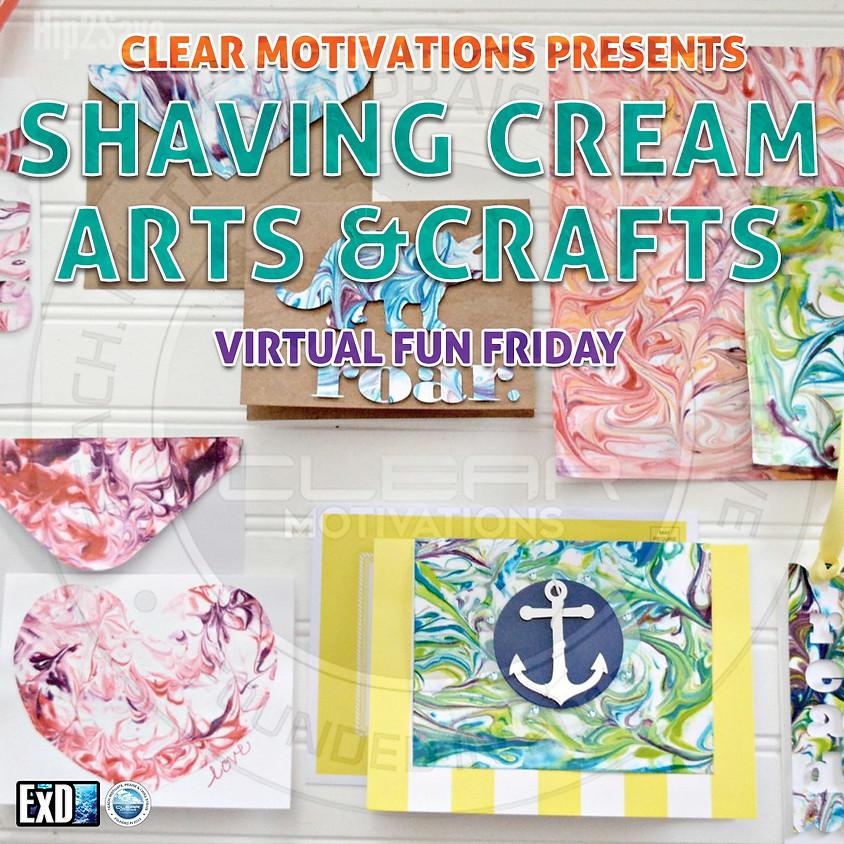 Shaving Cream Arts & Crafts