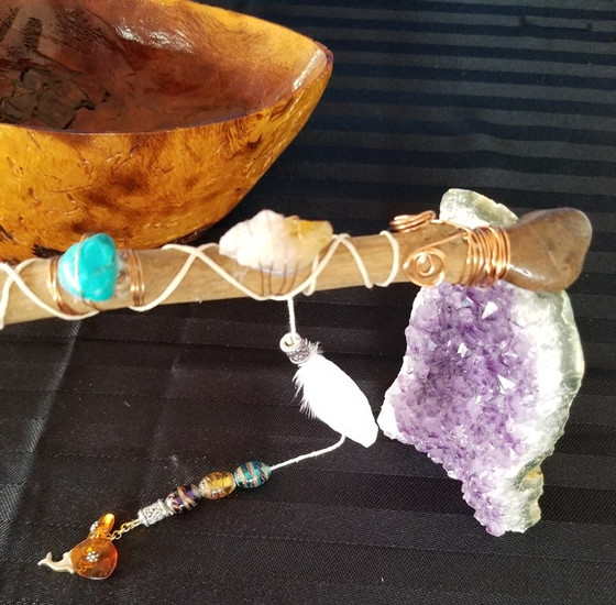 My Journey - Chronicle 9  - Healing Crystal Wands & Sticks
