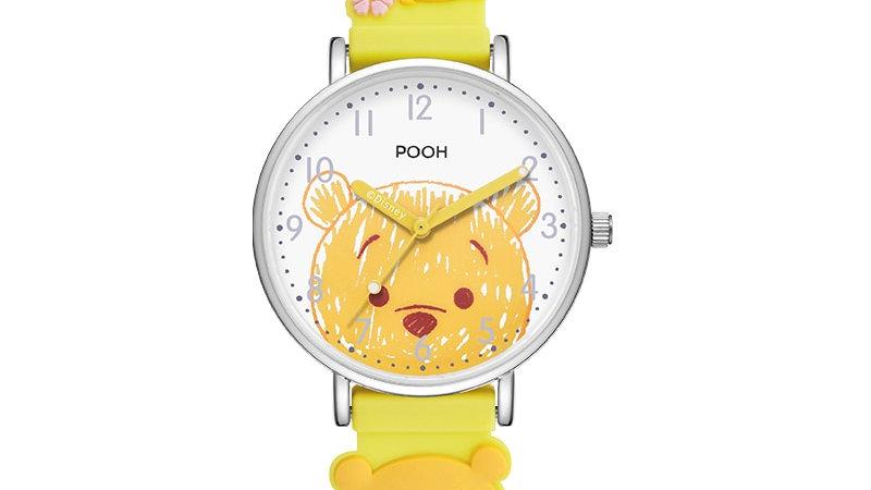 Disney Original Marie Cat Winnie Pooh Quartz Wristwatch Waterproof  Silicone