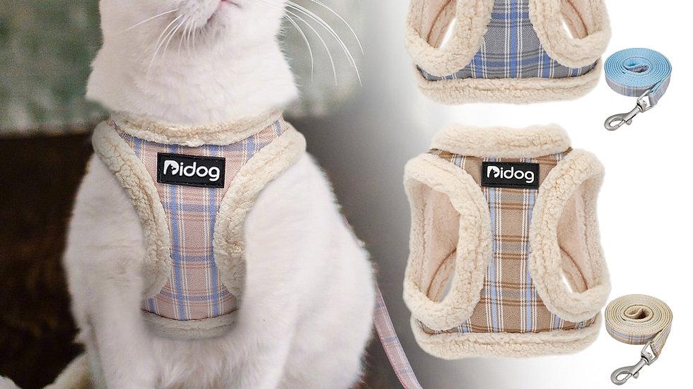 Cat Harness Vest Soft Padded Adjustable Walking Leash