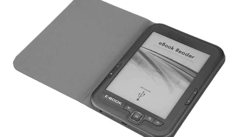 HOT-6 Inch 4GB Ebook Reader MP3 With Case, WMA PDF HTML