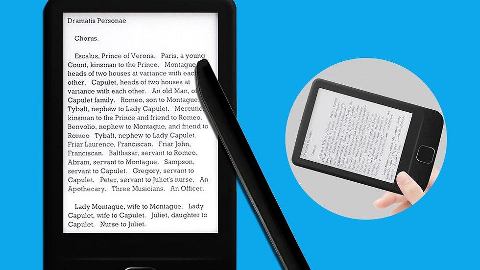4.3 Inch OED Eink Screen Digital Smart Ebook Reader