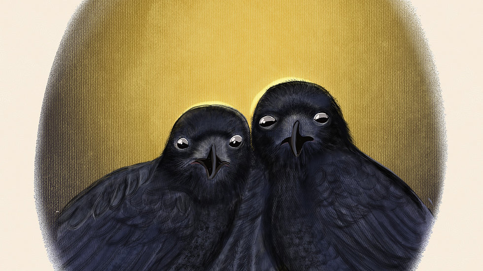 And the Crows Began to Wonder by Laura Billingham