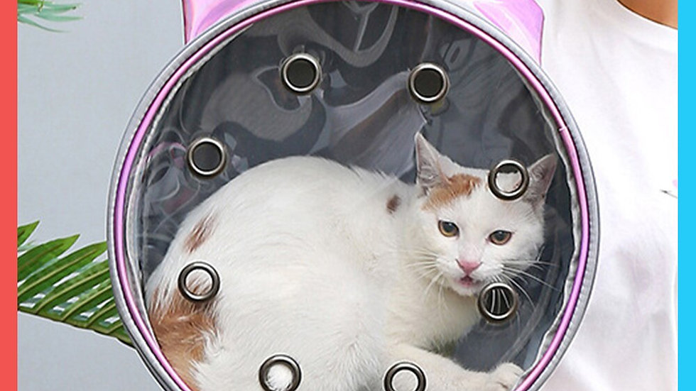 Pet Carrier for Cat Backpack Capsule Windows