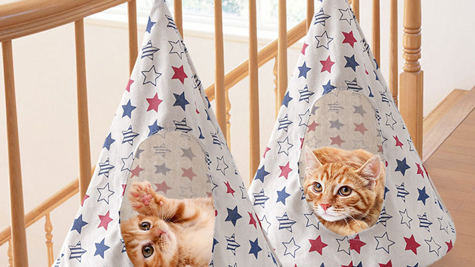 Pet Kitten House Cone Shaped Breathable