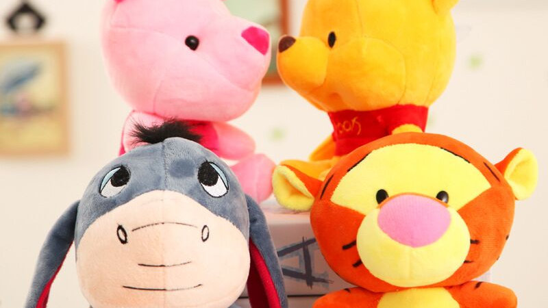 Disney Plush Animal Winnie the Pooh Piglet TiggerToy