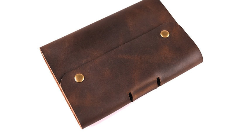 Vintage Genuine Leather Traveller's Notebook Diary Bullet Journal Planner