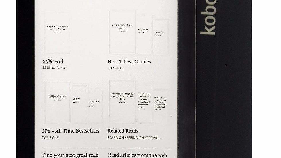 E-Book Kobo Aura Ebook Reader  WiFi 4GB Memory