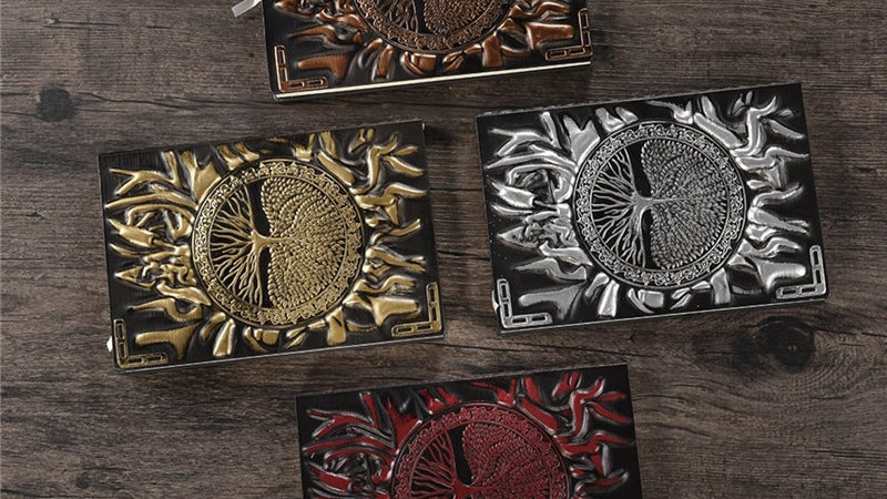 A5/A6 Handcraft Embossed Notebook Leather