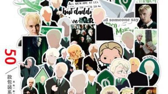 50 Pcs Harry Potter Graffiti Stickers