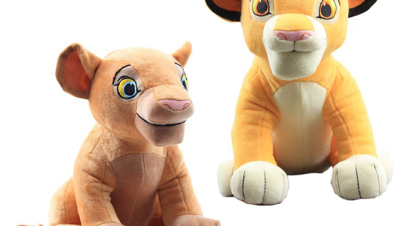 The Lion King Plush Toys 26cm Simba Nala