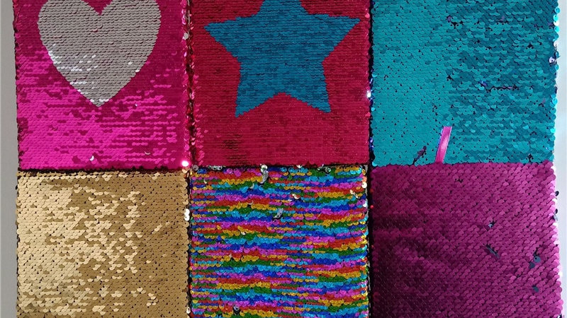 Color Sequins Notebook Creative Stationery Diary Notebook