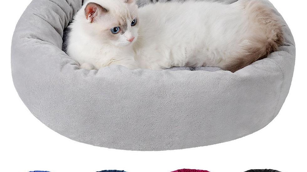 Round Cat Bed Soft Plush