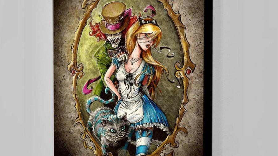 Cartoon Alice in Wonderland Handicrafts