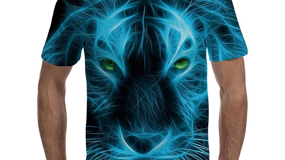 Lion Pattern T-Shirt