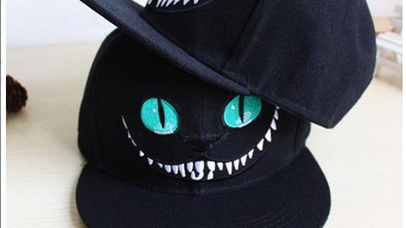 Alice Wonderland Cheshire Cat Cartoon Baseball Caps