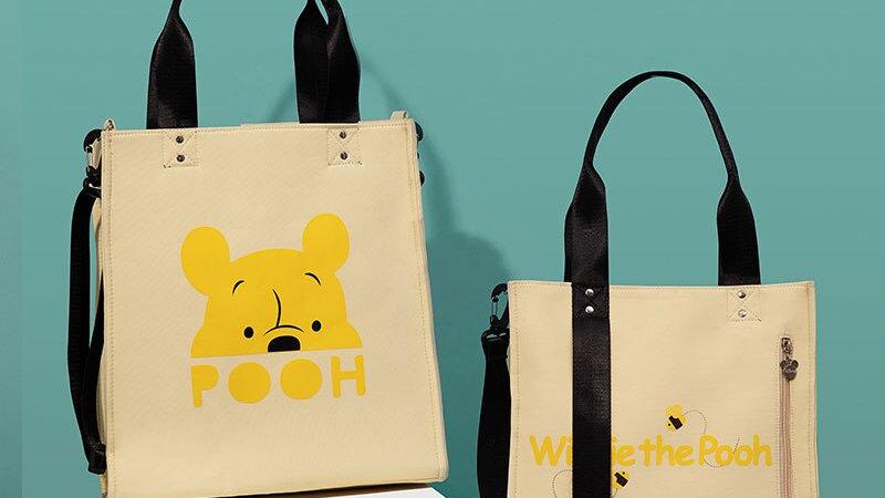 Pooh Bear Baby Diaper Bags Large Capacity Tote Bags Waterproof  Baby Care