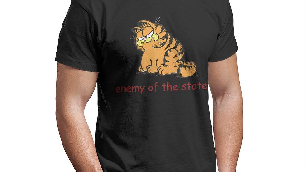 Comrade GarfAnime Clothes Design the Garfield Show Cotton T-Shirt