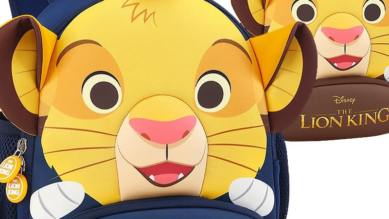 Genuine Disney the Lion King Anti-Lost Backpack Breathable Bag