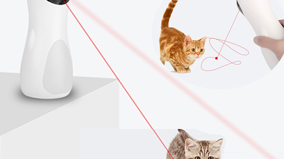Cat Interactive Toy Automatic Laser Pointer