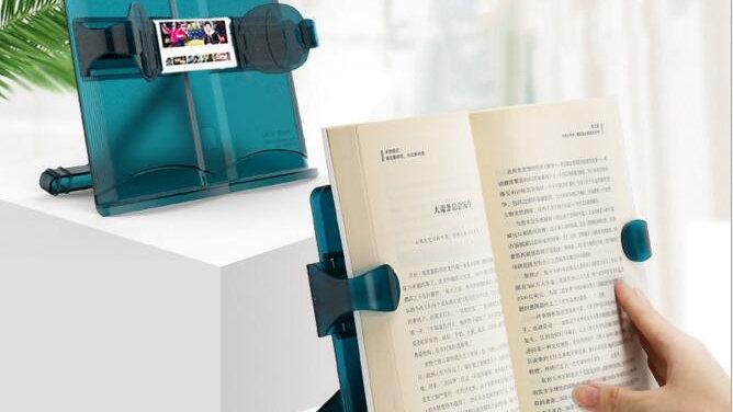 Sharkbang Multifunctional Adjustable Reading Book Holder Laptop Mobile Phone