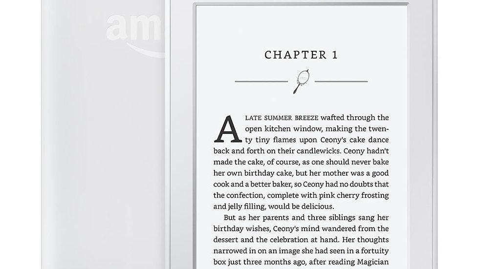 "Kindle Paperwhite White 32GB eBook WIFI 6""LIGHT Wireless Built-In Backlight"