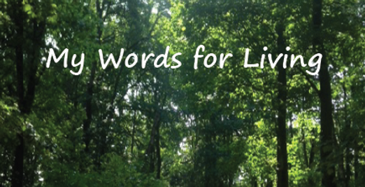 My Words for Living by Sue McFarlane